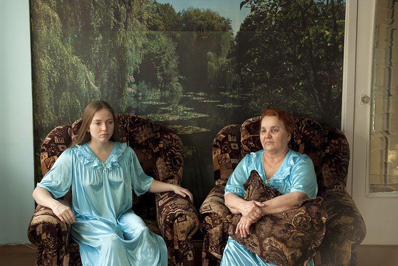 Моя бабушка и я Татьяна Антонюк.  Ежегодный конкурс фотографии. проводимый...